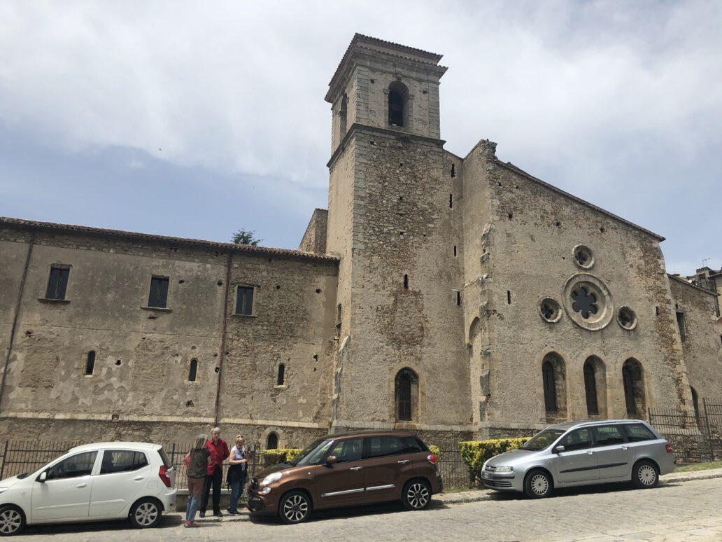 Bazilica San Giovanni in Fiore, unde se află corpul lui Gioacchino di Fiore