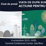 INVITAȚIE CLUB DE PRESĂ: Cât ne costă chimbările climatice și cine își asumă responsabilitatea