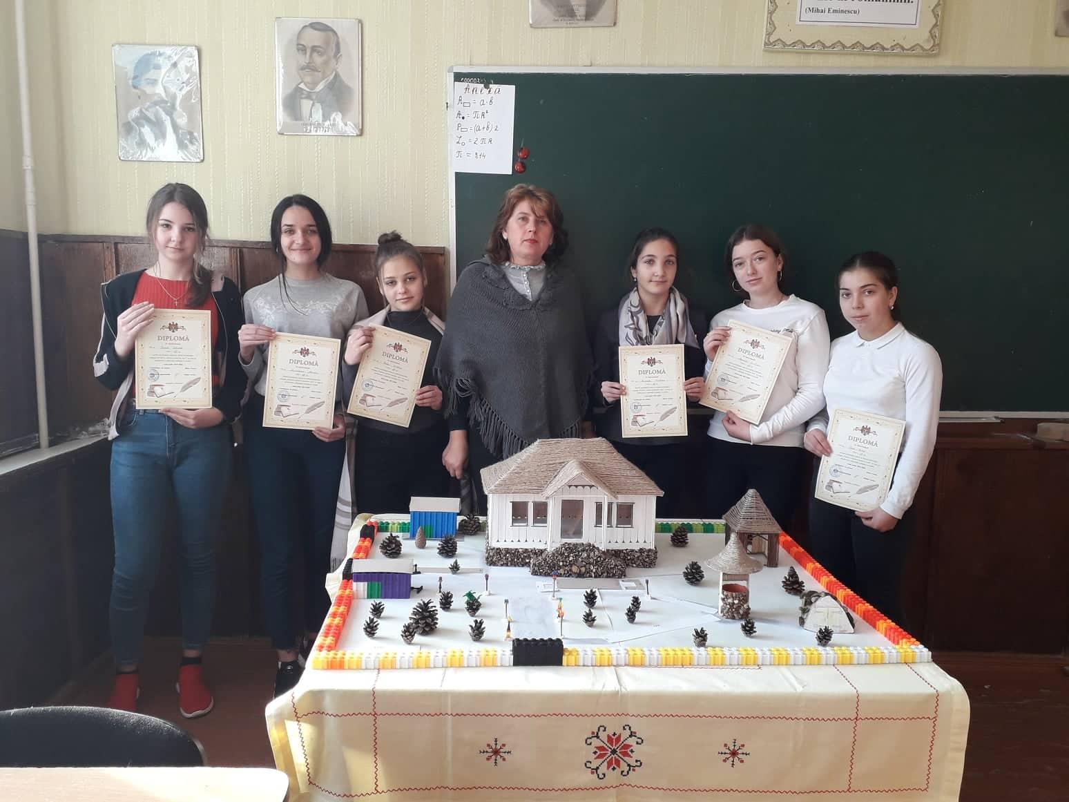 Educație ecologică prin prisma matematicii. Oră publică la Gimnaziul Piatra. Profesoară: Viorica Sârbu.