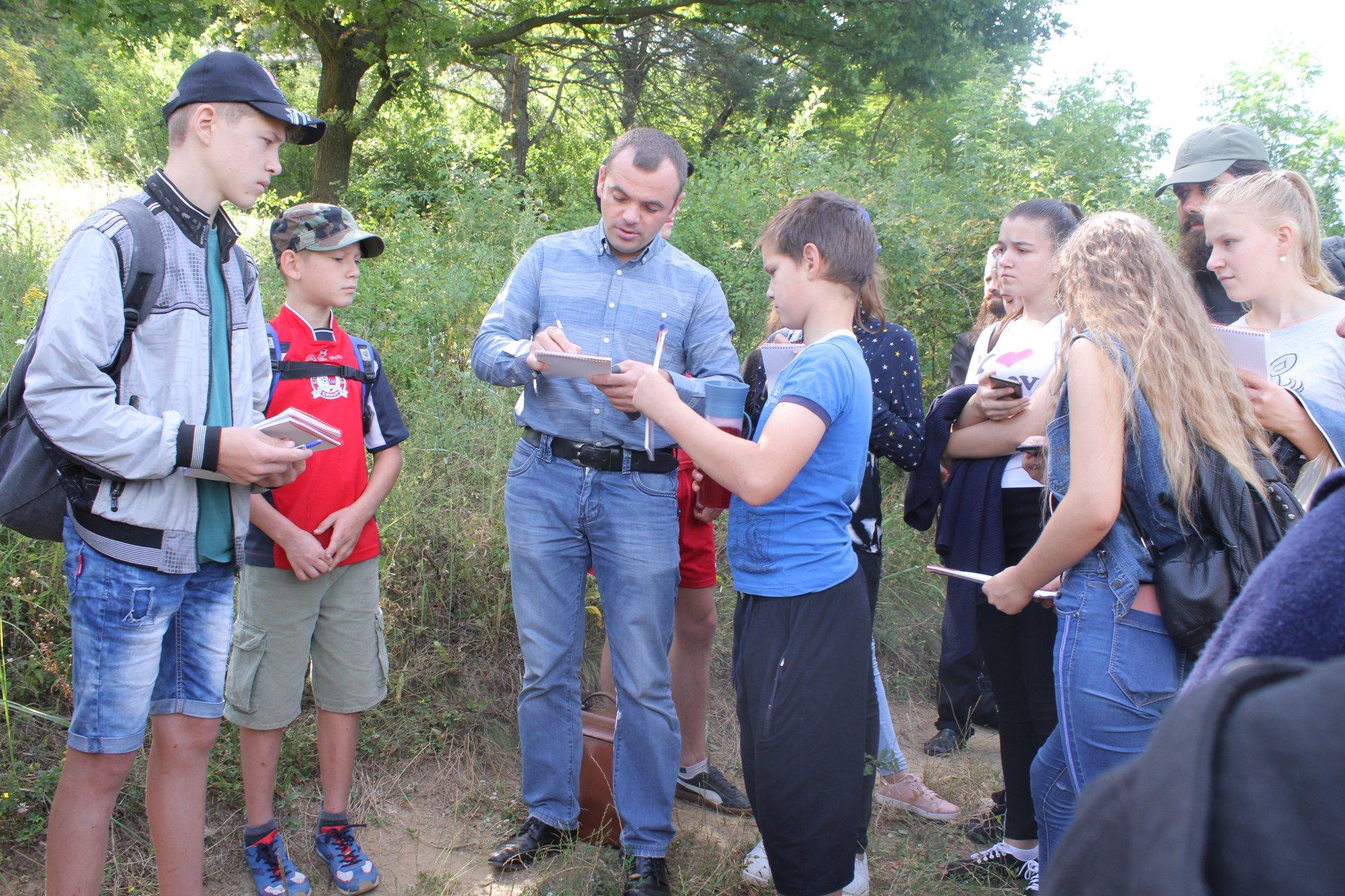 Educație ecologică pentru elevii din localitățile Rezervației Orheiul Vechi