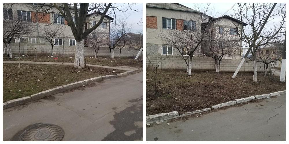 /FOTO/ #fărdikulëk – provocarea prin care tinerii curăță locurile publice de pungi și alte deșeuri