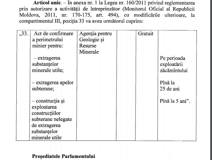 Legea aprobată în prima lectură