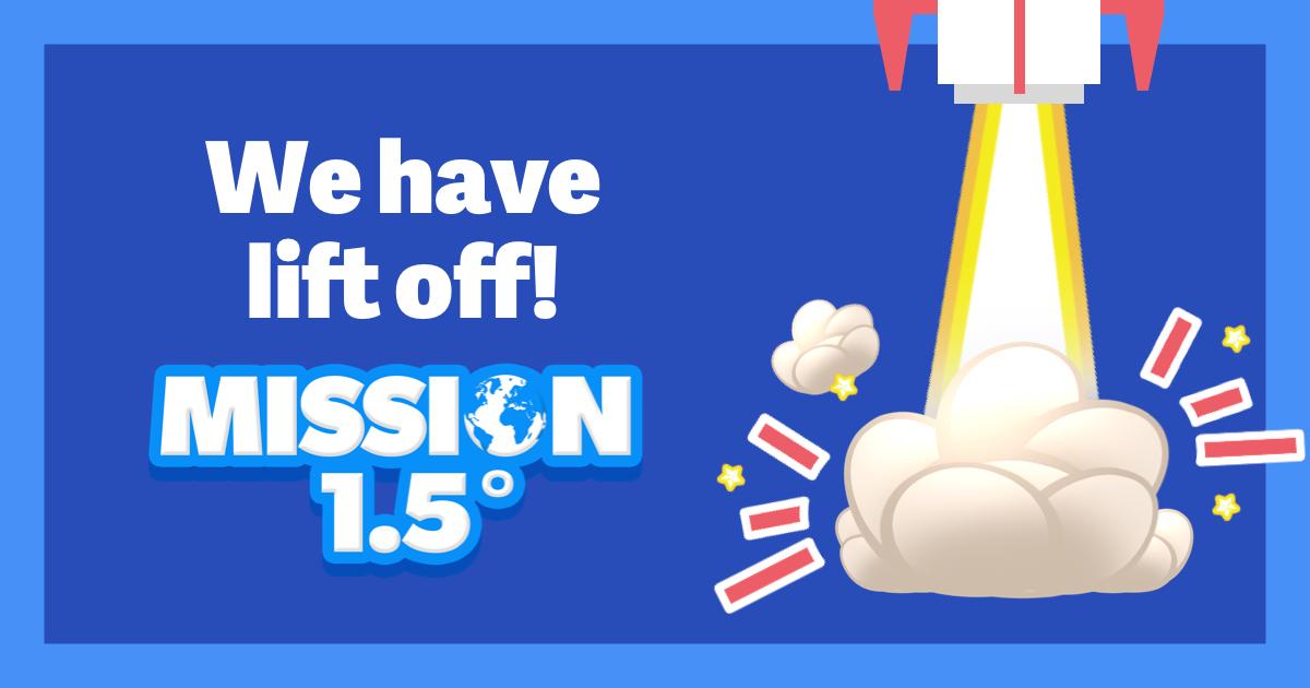 Misiunea 1.5 – jocul unde poți lua decizii pentru a menține încălzirea globală sub 1,5 grade Celsius