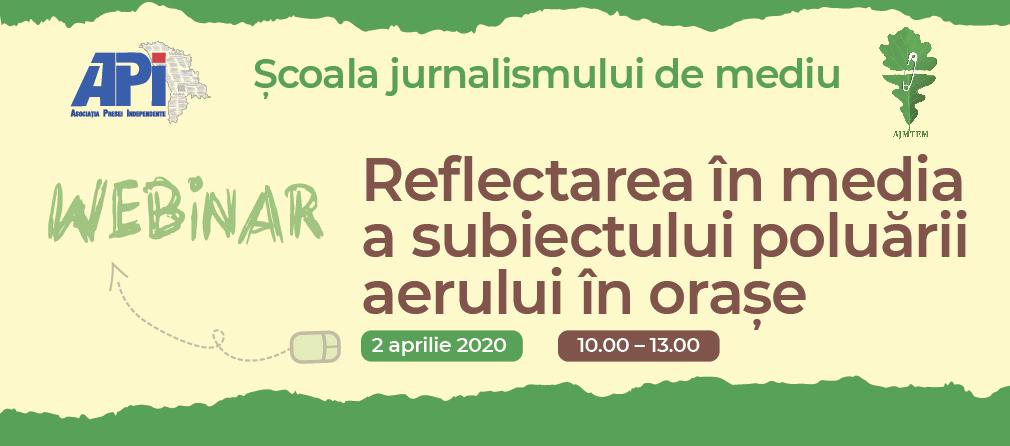 Webinare de jurnalism de mediu pentru cei interesați. Cum poți participa și tu