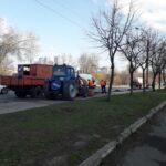 La Chișinău a început curățenia generală de primăvară