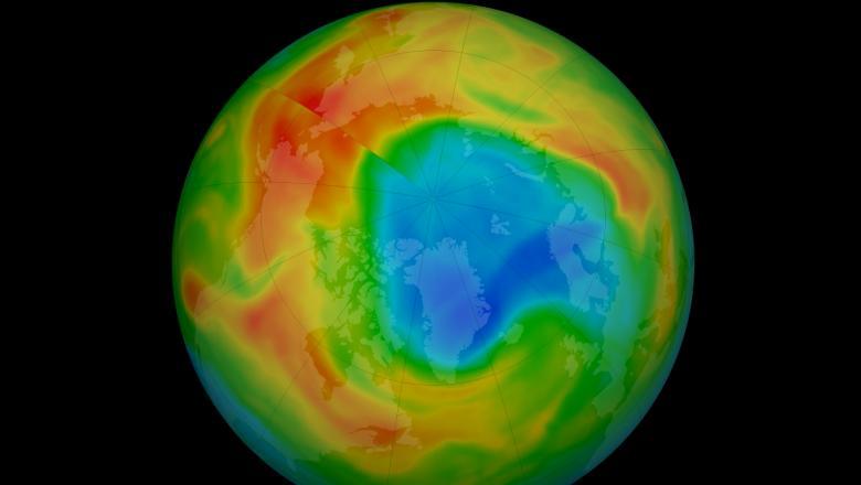 VIDEO/ O gaură de dimensiuni record a apărut în stratul de ozon deasupra Arcticii