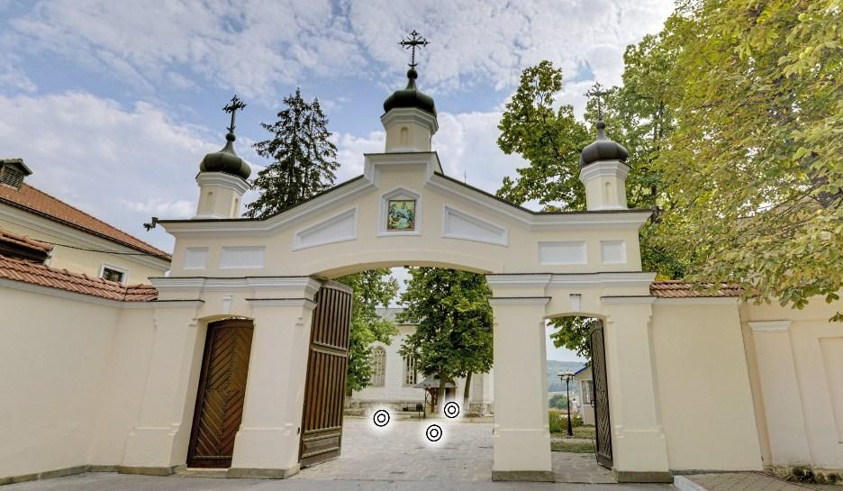 Astăzi #stămacasă și vizităm mănăstirea Căpriana