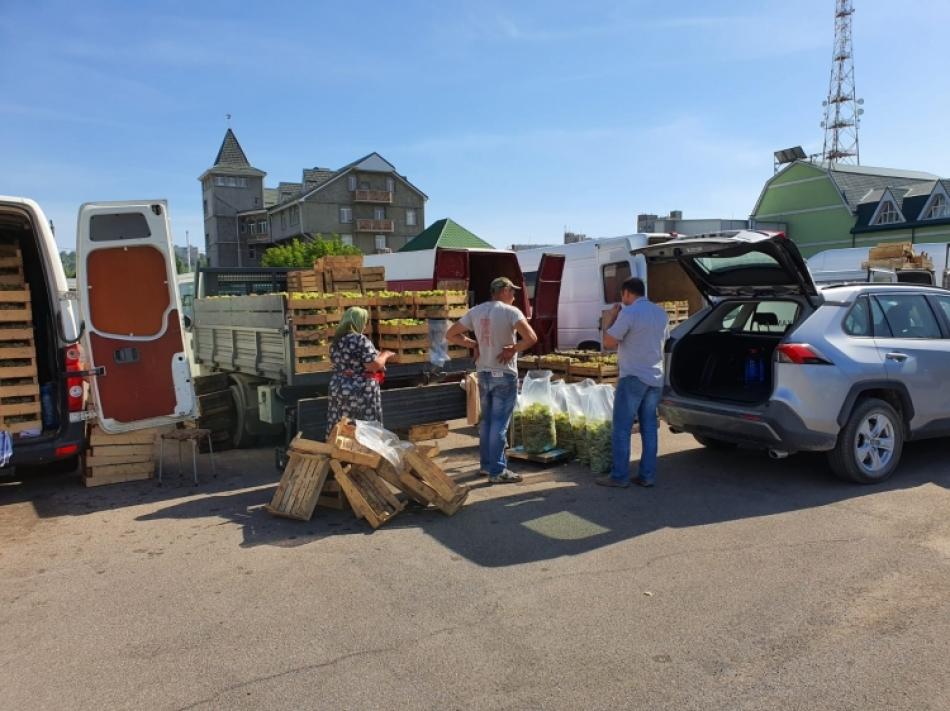 Adresele din Chișinău unde a fost permis comerțul ambulant cu produse agricole