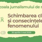După Covid-19, problemele de mediu trebuie să fie în topul agendei media