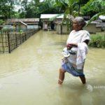India: Un milion de persoane au fost nevoite să-şi părăsească locuinţele în statul Assam din cauza inundaţiilor