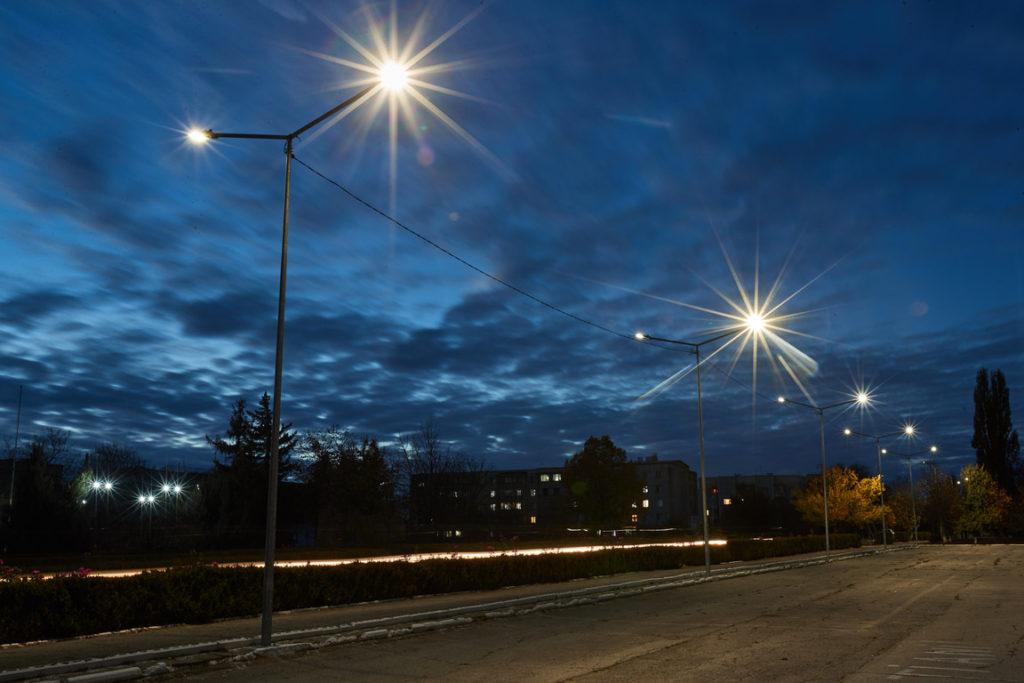 Orașul Cantemir iluminat cu susținerea UE