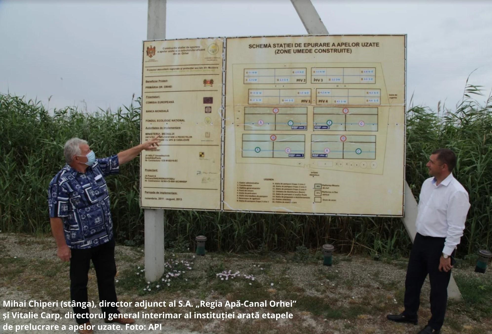 La Orhei funcționează cea mai mare stație de epurare ecologică din Europa