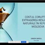 LIVE VIDEO/ Prezentarea unui studiu privind costul corupției în extragerea resurselor naturale în R. Moldova