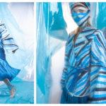 """FOTO/ """"OCEAN BEAT"""" – o colecție vestimentară creată de un tânăr din Moldova, care atrage atenția asupra poluării apelor oceanice"""