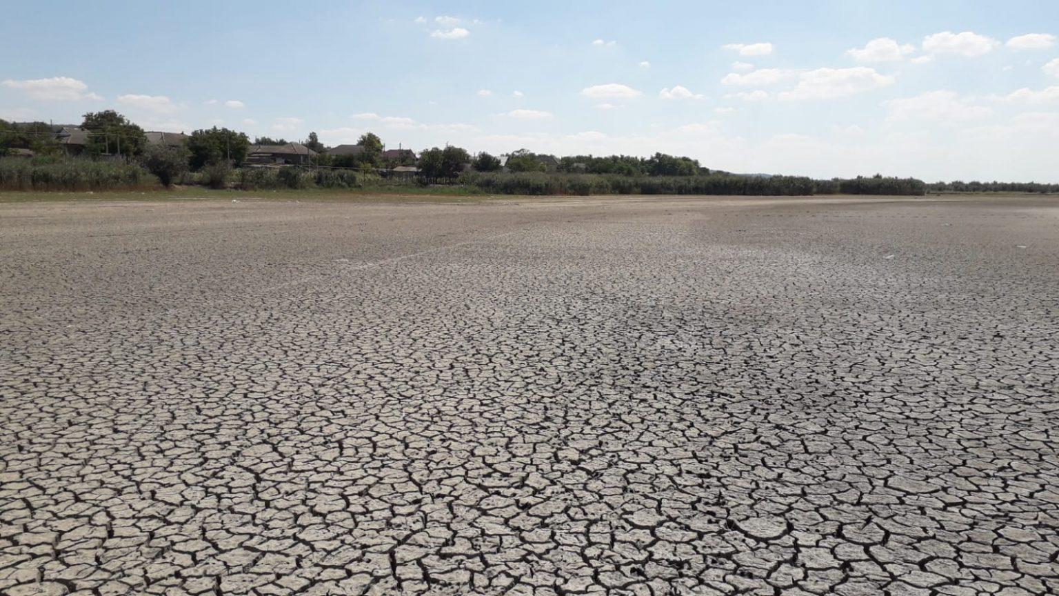 Cod portocaliu de secetă hidrologică în bazinul râurilor Răut și Bâc. Îndemnul autorităților