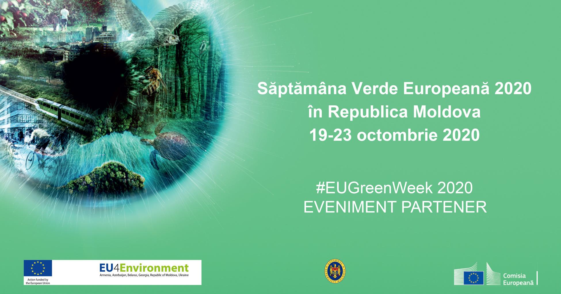 Natura, biodiversitatea și Pactul Verde European celebrate în Săptămâna Verde Europeană