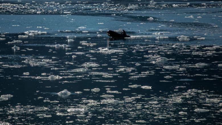 Fenomen fără precedent. Căldura-record din Siberia întârzie formarea gheții în zona arctică