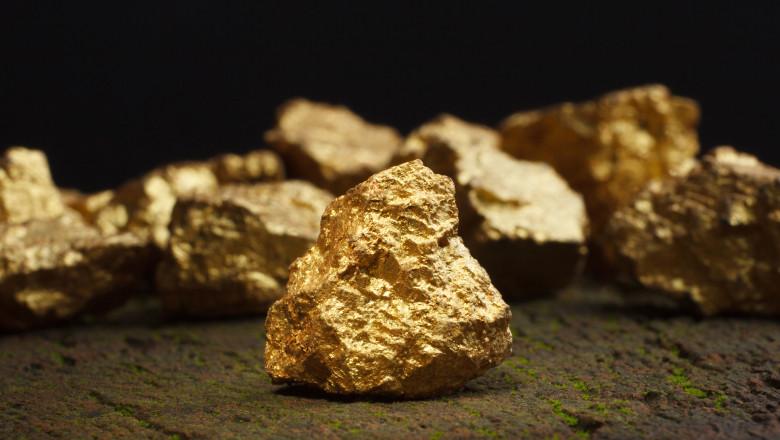 Pepită de aur. Foto: GettyImages