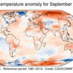 Septembrie 2020, cel mai fierbinte septembrie din istorie. Căldură neobișnuit de mare în țările din jurul Mării Negre