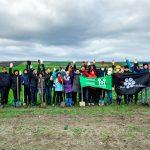 """""""Aici va fi o pădure frumoasă."""" Voluntarii Hai Moldova au plantat peste 3 700 de copaci"""