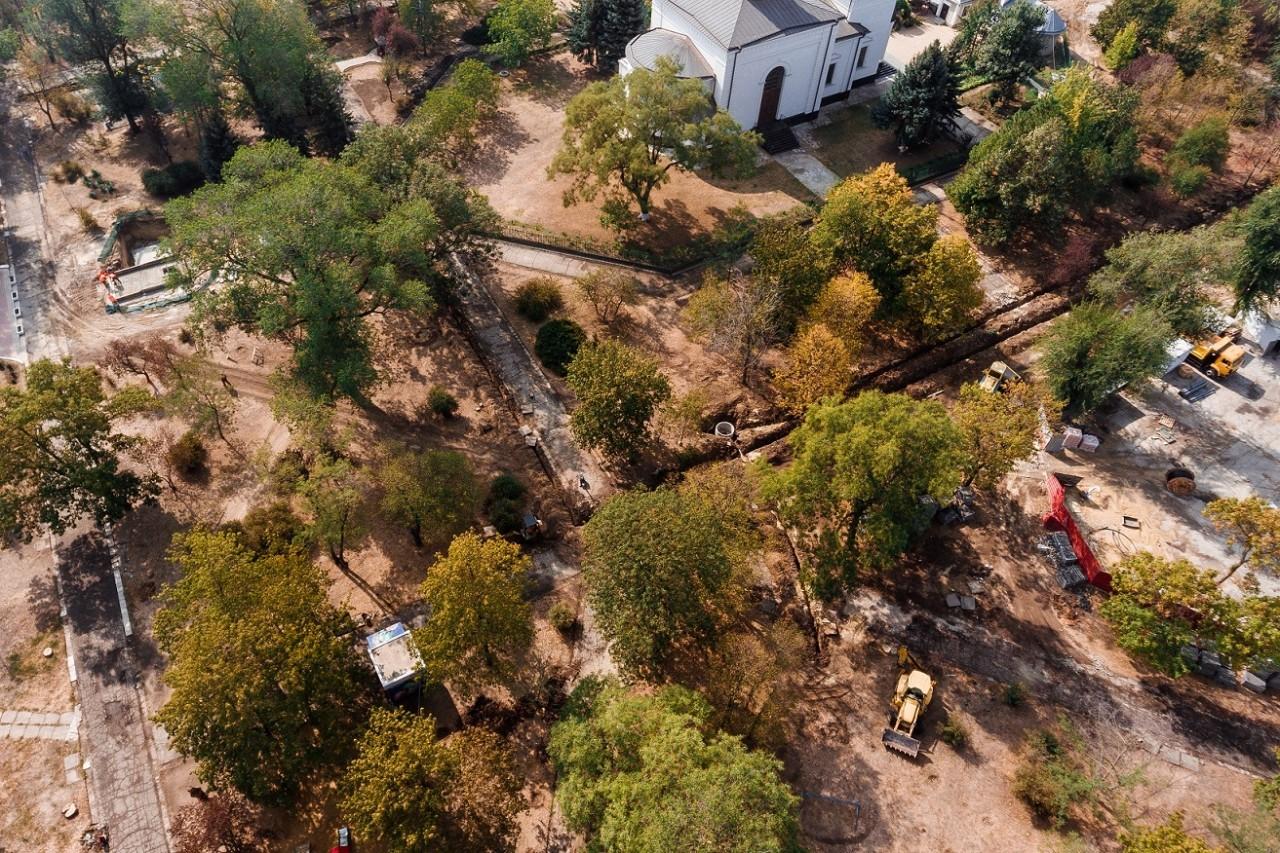 Un parc din Cahul este renovat datorită suportului acordat de UE