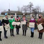 FOTO/ Flash-mob inedit la Călărași. Voluntarii au împărțit torbe ecologice în schimbul pungilor de plastic
