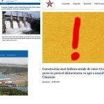 FALS: Maia Sandu s-a pronunțat pentru construcția de către Ucraina a hidrocentralei pe Nistru