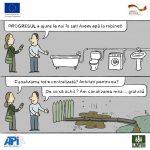 CARICATURĂ/ Conectarea la canalizare și progresul la sat