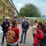 FOTO/ 15 lideri locali în vizită de monitorizare la Liceul Ion Vatamanu din Strășeni