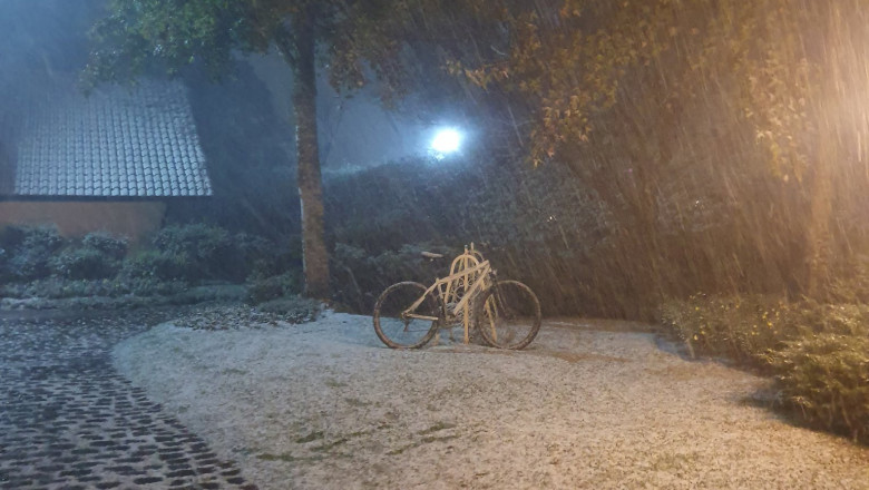 Fenomen rar în Brazilia. A nins în peste 40 de orașe din sudul țării
