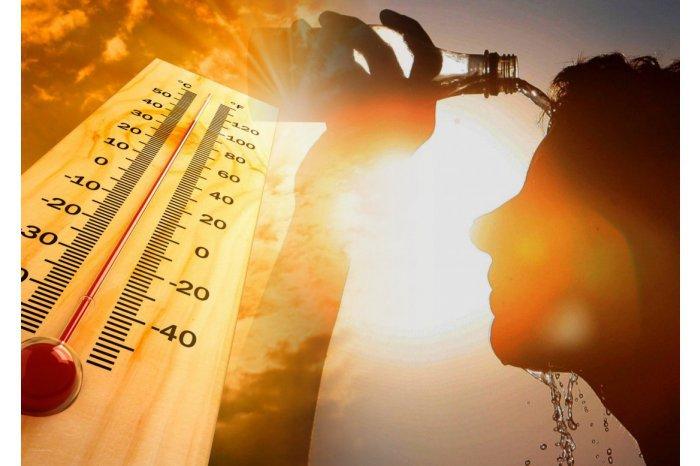 Cod galben de caniculă, temperaturi până la +37 de grade Celsius