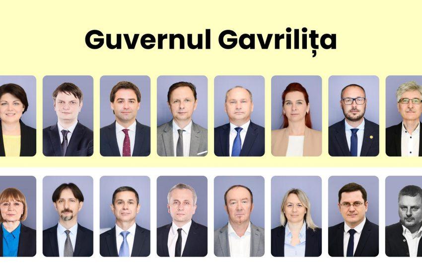 Separare de ministere: Iuliana Cantaragiu, Ministrul Mediului; Viorel Gherciu, Ministrul Agriculturii și Industriei Alimentare