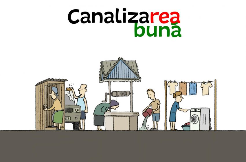 Jurnaliștii de mediu au lansat jocul  CanalizaREA BUNĂ