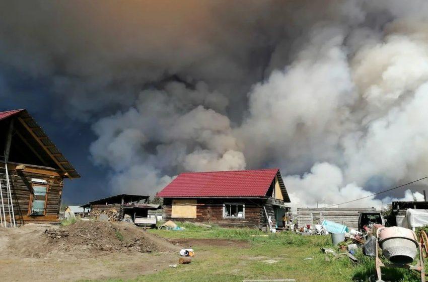 Foto: Incendii masive în Republica Iacutia
