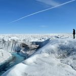 A plouat pentru prima dată în istorie pe vârfurile ghețarilor din Groenlanda