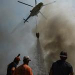 Cinci elicoptere din Republica Moldova au fost îndreptate în sudul Turciei pentru a participa la stingerea incendiilor forestiere