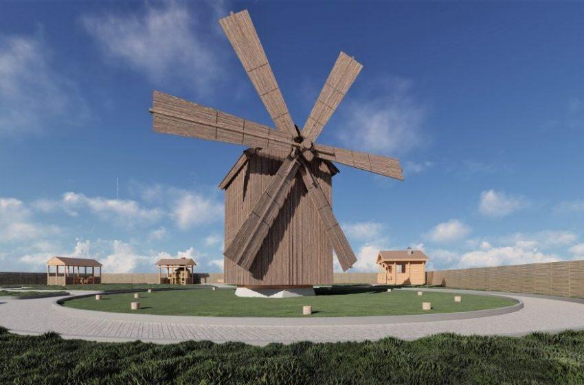 VIDEO/ Va deveni din nou funcțională. Moara de vânt din satul Gaidar va fi restaurată