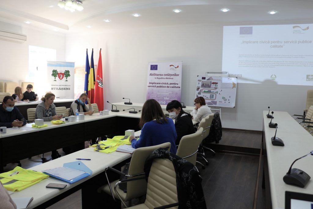 Cinci localități strășenene și-o singură dorință: o bună guvernare prin transparență, monitorizare și comunicare