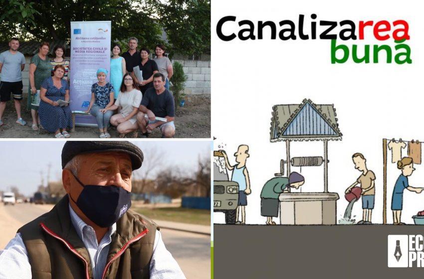 """FOTO/ Joc online, întâlniri comunitare și caricaturi. Cum AJMTEM a implementat proiectul """"Cu atitudine pentru un mediu sănătos"""""""