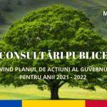 DOC/ Ministerul Mediului anunță consultări publice pentru a îmbunătăți cadrul normativ în domeniul protecției mediului