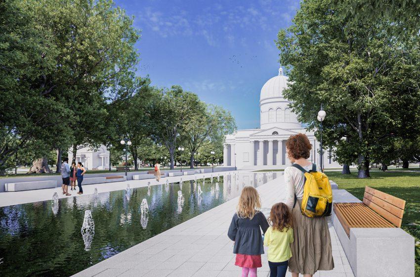 FOTO/ Cum ar putea arăta Parcul Catedralei și Grădina Publică Ștefan cel Mare din Chișinău. 11 idei de proiecte, puse la vot