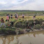 FOTO/ Zeci de saci cu gunoi, colectați din bazinele a șase râuri din sudul țării