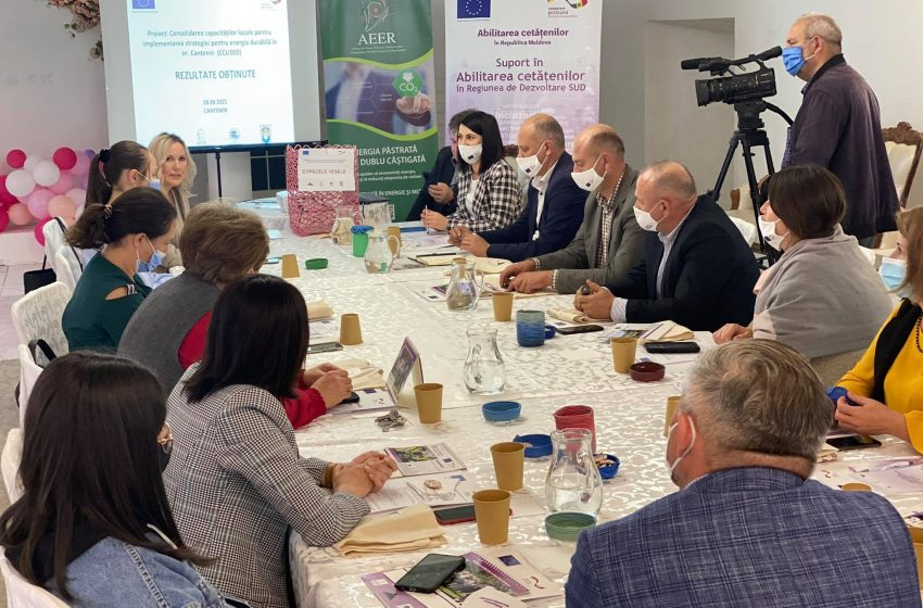 Cetățenii din Cantemir implicați în crearea unui oraș durabil