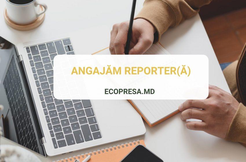 Asociația Jurnaliștilor de Mediu anunță concurs pentru angajarea unui reporter