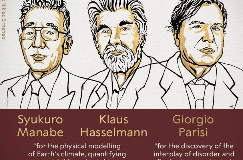 Premiul Nobel pentru Fizică pe 2020, acordat pentru contribuţii inovatoare în înţelegerea climei şi a sistemelor fizice complexe