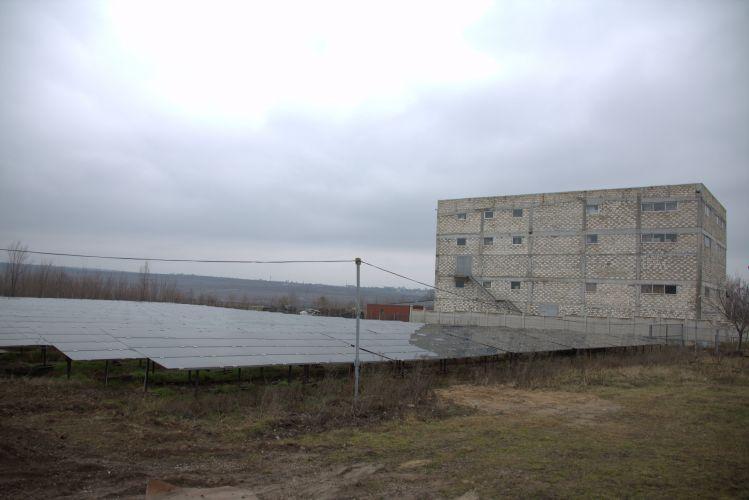 Parcul fotovoltaic de la Strășeni