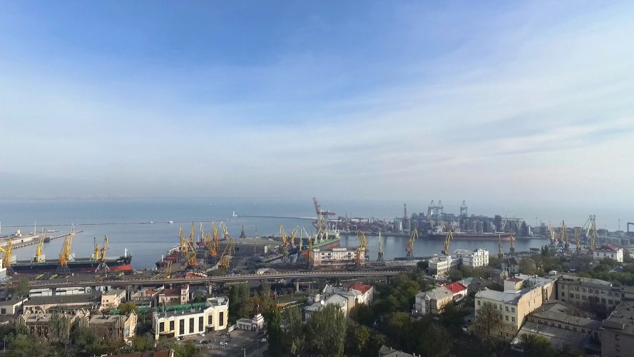 Portul Odessei, Ucraina