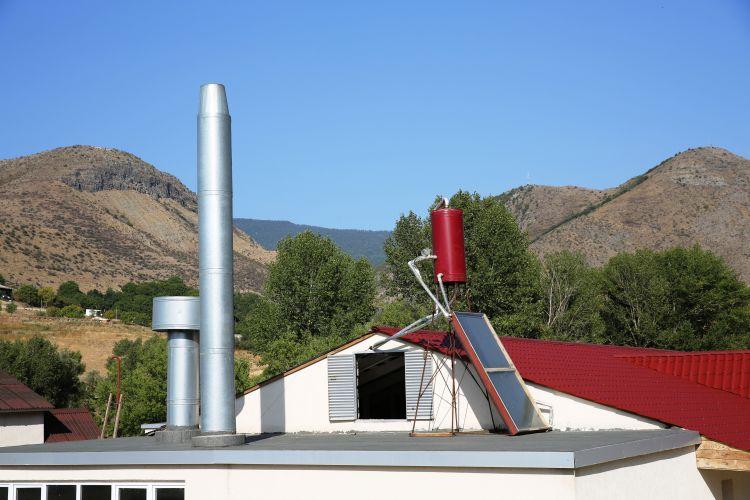 Panou solar pentru încălzirea apei la Centrul social REIA