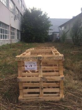 În Chișinău sunt trei puncte de compostare, dintre care două funcționale în sectorul Râșcani și Buiucani